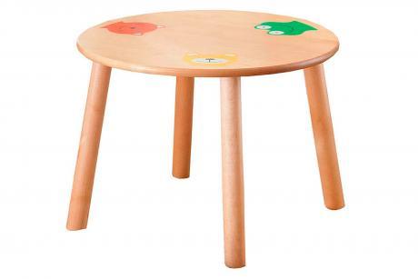 Стол круглый детский(ольха)