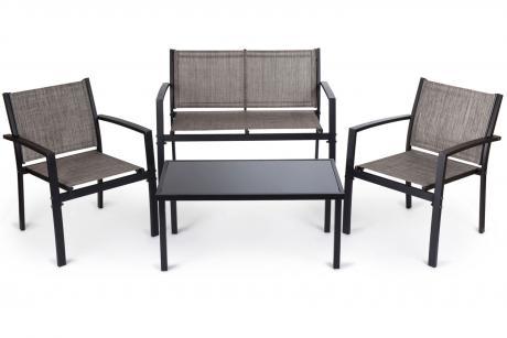 206 тв Комплект кофейный /стол+2 кресла+диван