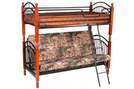618 PS Кровать 2-х ярусная + матрац