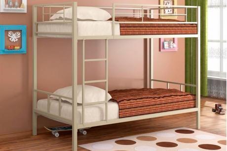 Кровать 2-х ярусная Севилья бежевый