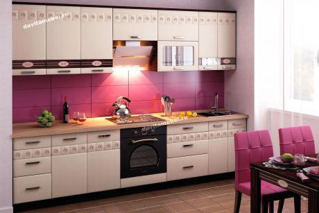 Набор мебели для кухни Аврора под заказ