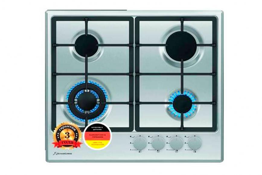 Варочная поверхность газовая schaub slk GE 6520