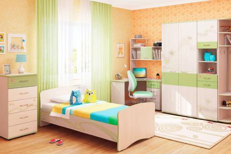 Набор детской мебели Акварель