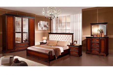 Спальня Лолита-1 дуб Махагон