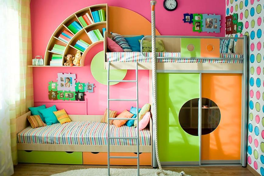 Набор детской мебели Выше Радуги