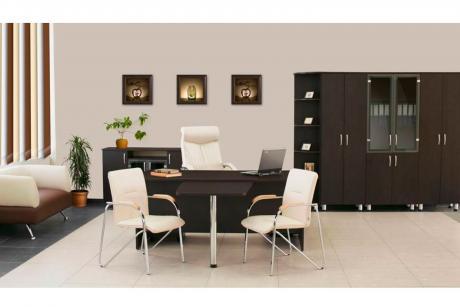Набор офисной мебели Лидер Престиж