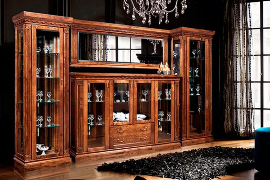 Мебель для гостиной Ривьера беловежский орех