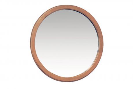 1117 Зеркало круглое дуб орех